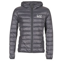 Textiel Heren Dons gevoerde jassen Emporio Armani EA7 TRAIN CORE ID DOWN LIGHT HD Grijs