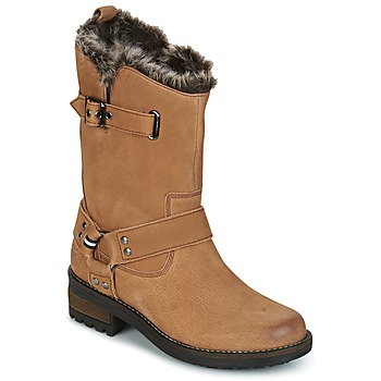 Schoenen Dames Laarzen Superdry TEMPTER BOOT Brown