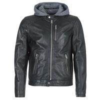 Textiel Heren Leren jas / kunstleren jas Oakwood 62579 Zwart