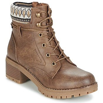Schoenen Dames Laarzen Refresh YELLOWSTONE Taupe