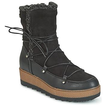 Schoenen Dames Snowboots Refresh GLORIA Zwart