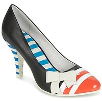 Schoenen Dames pumps Lola Ramona STILETTO Zwart / Orange / Wit
