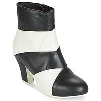 Schoenen Dames Enkellaarzen Lola Ramona ELSA Wit / Zwart