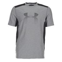 Textiel Heren T-shirts korte mouwen Under Armour UA RAID GRAPHIC SS Grijs / Zwart