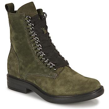 Schoenen Dames Laarzen Mjus CAFE CHAIN Kaki