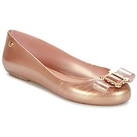 Schoenen Dames Ballerina's Melissa VW SPACE LOVE 18 ROSE GOLD BUCKLE Roze / Gold