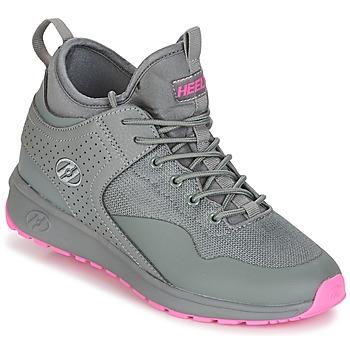 Schoenen Meisjes Schoenen met wieltjes Heelys PIPER Grijs / Roze