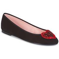 Schoenen Dames Enkellaarzen Pretty Ballerinas   zwart