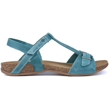 Schoenen Dames Sandalen / Open schoenen Interbios SANDALEN AFRODITE JEANS