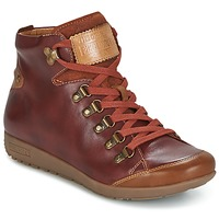 Schoenen Dames Hoge sneakers Pikolinos LISBOA W67 Brown