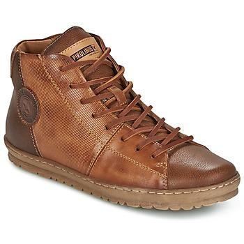 Schoenen Dames Hoge sneakers Pikolinos LAGOS 901 Brown
