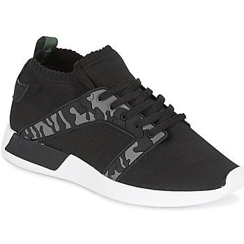 Schoenen Heren Lage sneakers Cash Money ARMY Zwart / Kaki