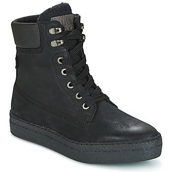 Schoenen Dames Hoge sneakers Bullboxer GANDIA Zwart