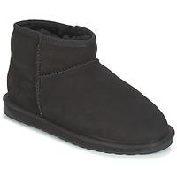 Schoenen Dames Laarzen EMU STINGER MICRO Zwart