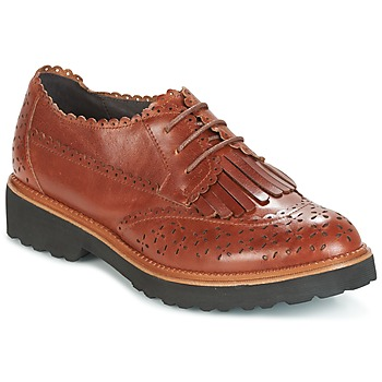 Schoenen Dames Derby Mam'Zelle ROSEAU Brown