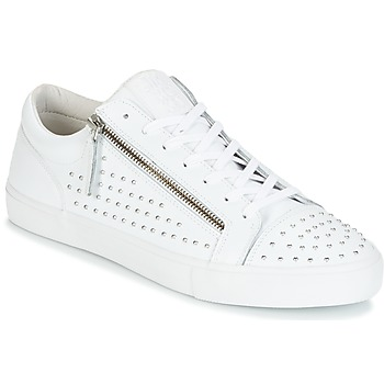 Schoenen Heren Lage sneakers Jim Rickey ZED STUDS Wit / Zilver