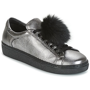 Schoenen Dames Lage sneakers Tosca Blu CERVINIA POM PON Zilver