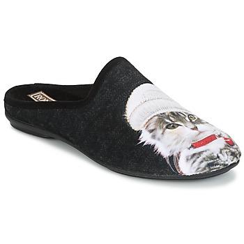 Schoenen Dames Sloffen Rondinaud MOSELOTTE Zwart