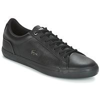Schoenen Heren Lage sneakers Lacoste LEROND 4 Zwart / Wit