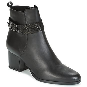 Schoenen Dames Enkellaarzen Tamaris BORISA Zwart