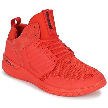 Schoenen Heren Lage sneakers Supra METHOD Rood