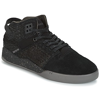 Schoenen Hoge sneakers Supra SKYTOP III Zwart / Grijs