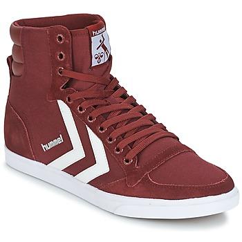 Schoenen Hoge sneakers Hummel STADIL CANEVAS HIGH Bordeaux