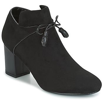 Schoenen Dames Low boots Moony Mood GLAM Zwart