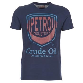 Textiel Heren T-shirts korte mouwen Petrol Industries TIRCO Marine