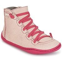 Schoenen Meisjes Hoge sneakers Camper PEU CAMI Roze
