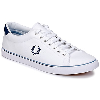 Schoenen Heren Lage sneakers Fred Perry UNDERSPIN CANVAS Wit