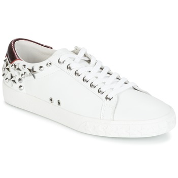 Schoenen Dames Lage sneakers Ash DAZED Wit / Bordeaux