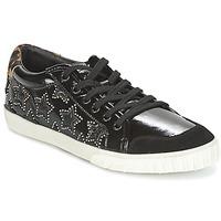 Schoenen Dames Enkellaarzen Ash MAJESTIC BIS  zwart / Zilver