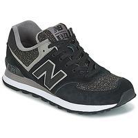 Schoenen Dames Lage sneakers New Balance WL574 Zwart