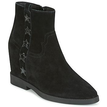 Schoenen Dames Laarzen Ash GOLDIE Zwart