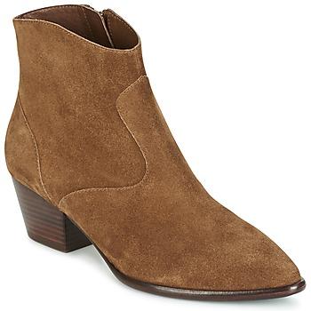 Schoenen Dames Enkellaarzen Ash HEIDI BIS  CAMEL