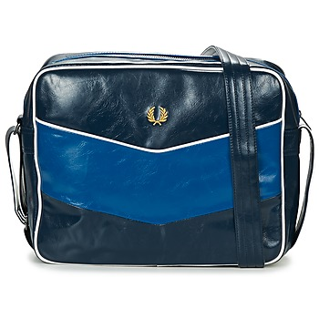 Tassen Heren Schoudertassen met riem Fred Perry CHEVRON SHOULDER BAG Marine