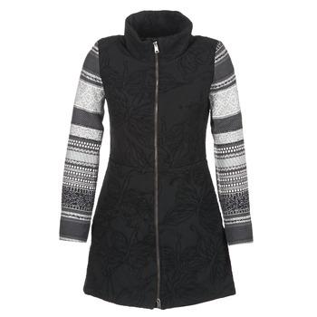 Textiel Dames Mantel jassen Desigual GRAME Zwart