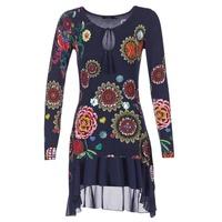 Textiel Dames Korte jurken Desigual GRUFI Blauw