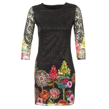 Textiel Dames Korte jurken Desigual GRAFI Zwart