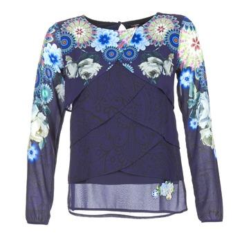 Textiel Dames Tops / Blousjes Desigual TAMA Blauw