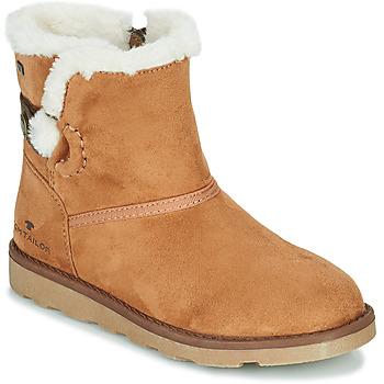 Schoenen Meisjes Laarzen Tom Tailor JAVILOME Brown