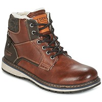 Schoenen Heren Laarzen Tom Tailor LORENZA Brown