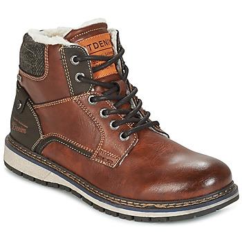 Schoenen Heren Laarzen Tom Tailor LORENZA Brown