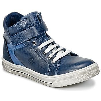 Schoenen Jongens Hoge sneakers Citrouille et Compagnie HOCHOU Marine