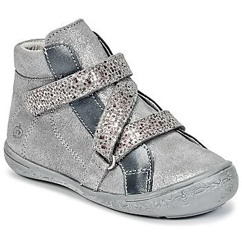 Schoenen Meisjes Hoge sneakers Citrouille et Compagnie HISSOU Grijs