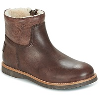 Schoenen Meisjes Laarzen Shabbies LOW STITCHDOWN LINED Brown