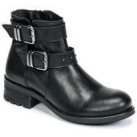Schoenen Dames Enkellaarzen Betty London HELIDI Zwart