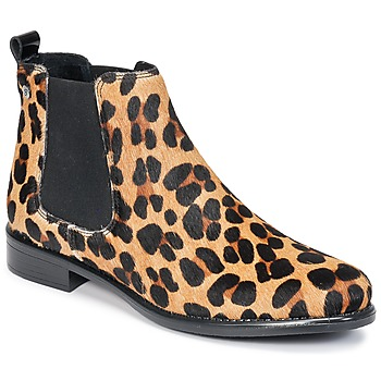 Schoenen Dames Laarzen Betty London HUGUETTE Leopard