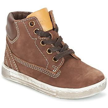 Schoenen Jongens Hoge sneakers Chicco CLOVER Brown